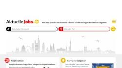 www.aktuelle-jobs.de Vorschau, Aktuelle-jobs.de, WebProjects Internet Service