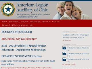 Screenshot for alaohio.org