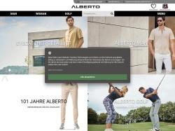 Alberto Shop - Männermode online Promo Codes 2018