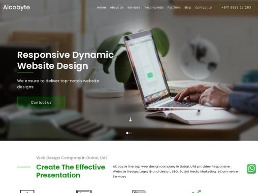 Web design company dubai   Ecommerce website design dubai