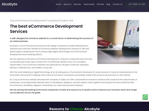 ecommerce website design company   creative web design company