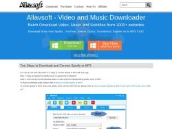 Allavsoft screenshot