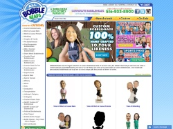 AllBobbleHeads.com screenshot