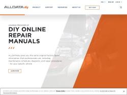 ALLDATAdiy.com screenshot