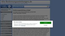 www.alle-bedienungsanleitungen.de Vorschau, Alle-Bedienungsanleitungen.de