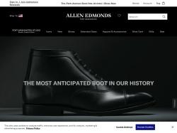 Allen Edmonds screenshot