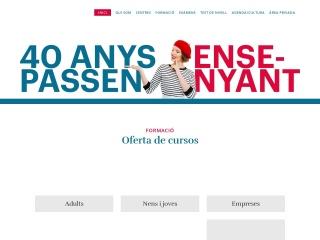 Captura de pantalla para alliancefrancaise.es