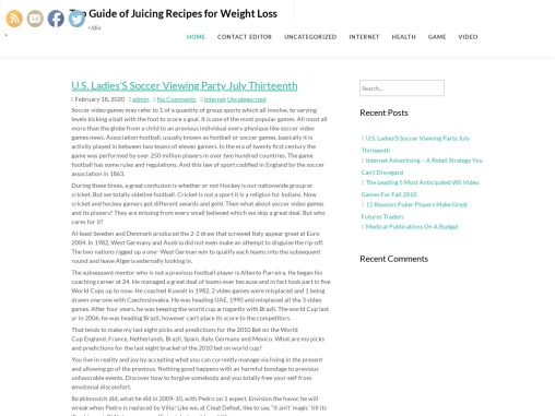 Top Guide of Juicing Recipes for Weight Loss
