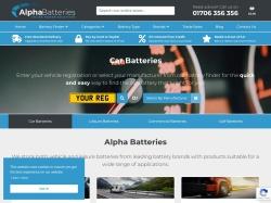 Alpha Batteries