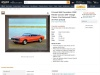 1968 RG/SS Camaro 396 Vintage Classic Car Wall Barnwood Framed Picture Art Print (16×20)