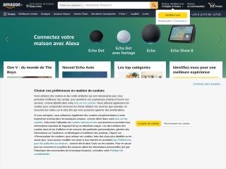 Capture d'écran pour amazon.fr