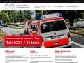 www.ambulanz-koeln.de Vorschau, Ambulanz Köln - Krankentransporte Spies KG