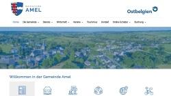 www.amel.be Vorschau, Gemeinde Amel