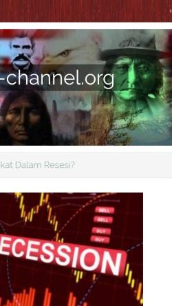 Vorschau der mobilen Webseite www.america-channel.org, America Channel