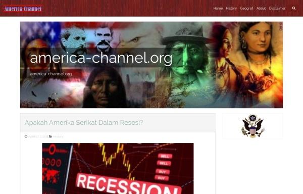 Vorschau von www.america-channel.org, America Channel