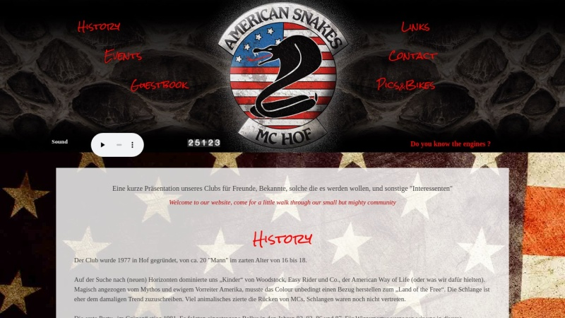 www.american-snakes.de Vorschau, American Snakes MC