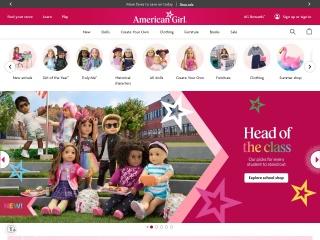 Screenshot for americangirl.com
