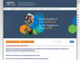 Screenshot for americanpetproducts.org