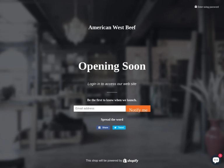 American West Beef screenshot