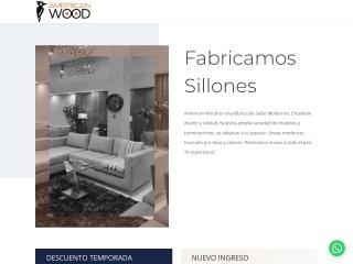 Captura de pantalla para americanwood.com.ar