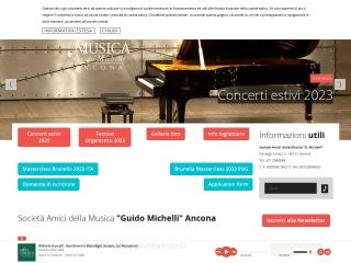screenshot amicimusica.an.it