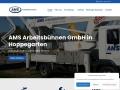 www.ams-arbeitsbuehnen.de Vorschau, AMS Arbeitsbühnen GmbH