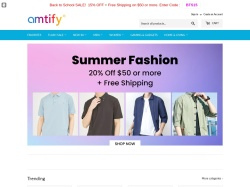 Amtify.com screenshot