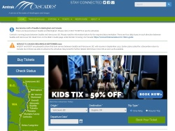 Amtrak Cascades Promo Codes 2019