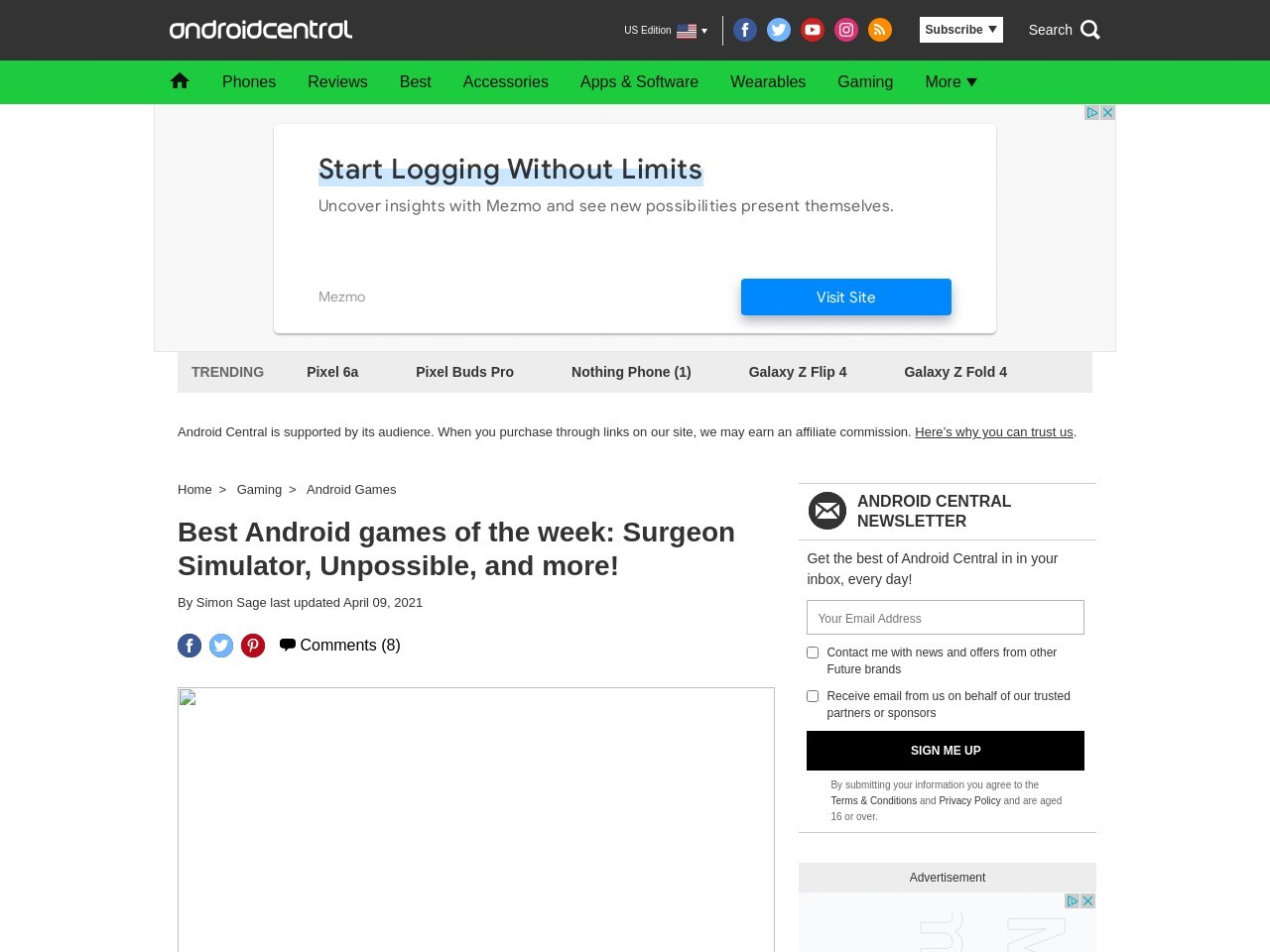 Best Android games of the week: Surgeon Simulator …