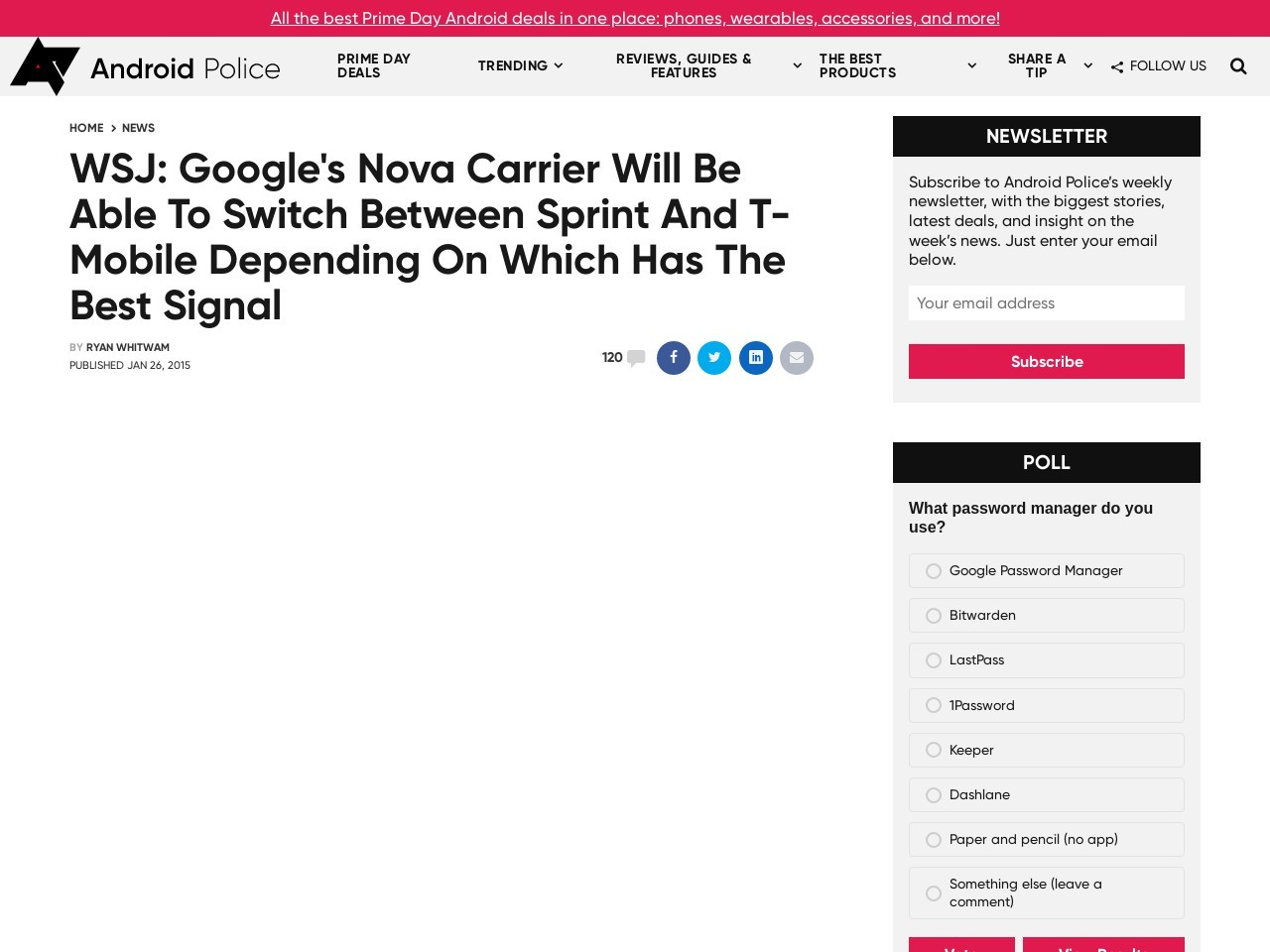 WSJ: Google's Nova Carrier Will Be Able To Switch …