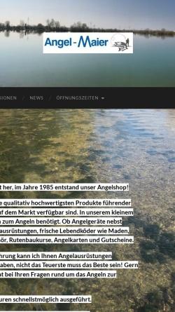 Vorschau der mobilen Webseite www.angel-maier.de, Angel Maier