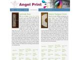 Interior Designer Doors – Angel Print