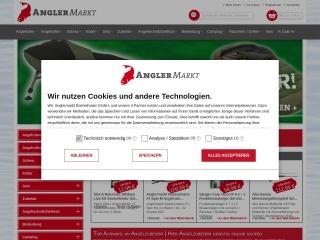 Screenshot der Website angler-markt.de