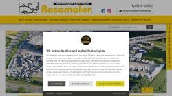 www.anhaenger-rosemeier.de Vorschau, Anhänger-Centrum Rosemeier GmbH