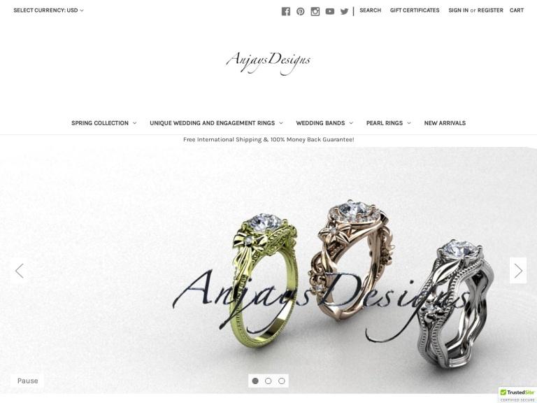 Anjays Designs screenshot