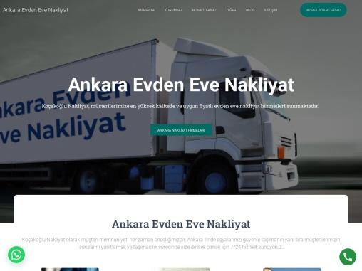 Ankara Eşya Depolama Firmaları