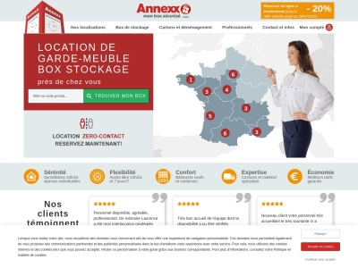 Annexx, spécialiste du self-stockage