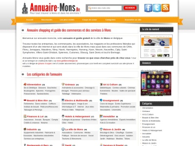 Annuaire-Mons.be - Shopping à Mons