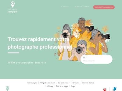 Annuaire des photographes professionnels