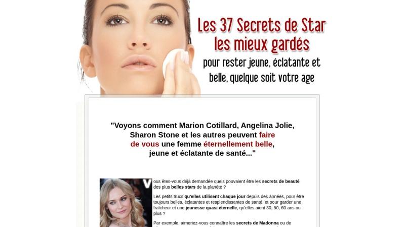 37 secrets de star pour rester jeune et belle