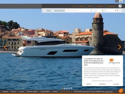 Antipode Yachts : Vente de bateaux d'occasions