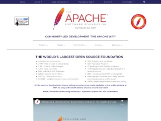 Screenshot for apache.org