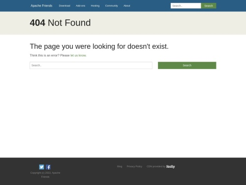 apache friends - xampp