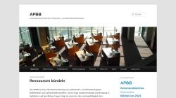 www.apbb.de Vorschau, Arbeitsgemeinschaft der Parlaments- und Behördenbibliotheken (APBB)