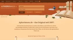 www.aphorismen.de Vorschau, 1001 Aphorismen