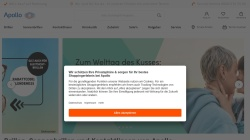 www.apollo-optik.com Vorschau, Apollo-Optik Holding GmbH & Co. KG