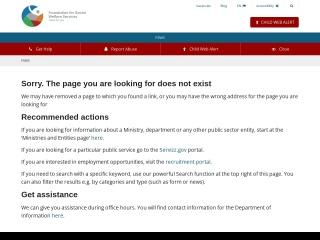 Screenshot for appogg.gov.mt