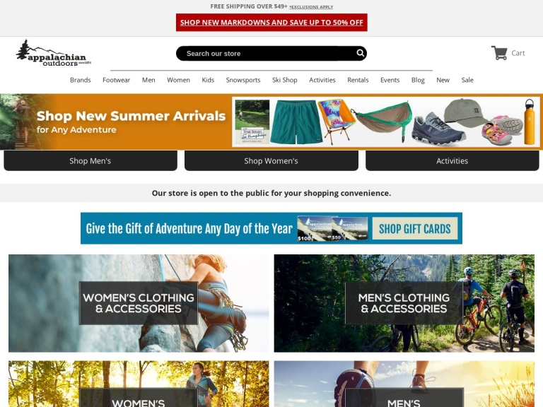 AppOutdoors.com screenshot