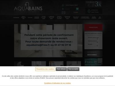 Baignoire balneo - Aquabains.fr