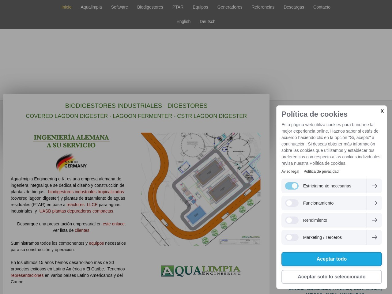 AquaLimpia – PLANOS  BIODIGESTOR 500 m3 SOBRE TIERRA Coupons